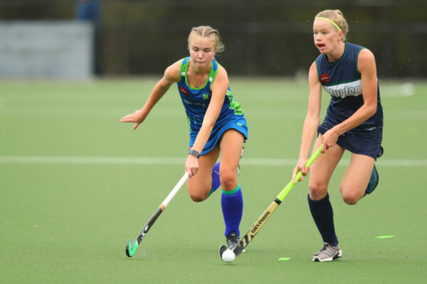 Academy Sports Athletes participate in Hockey at the 2021 Academy Sports Competition at Central Coast Hockey Fields. Wyong, NSW on Friday 16th of April, 2021
