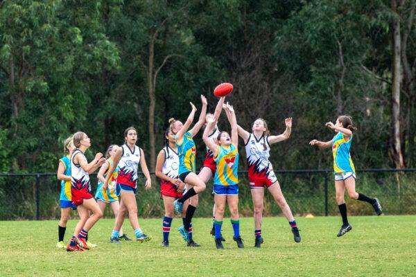 AFL Girls U14 - Kevin Bull - 145